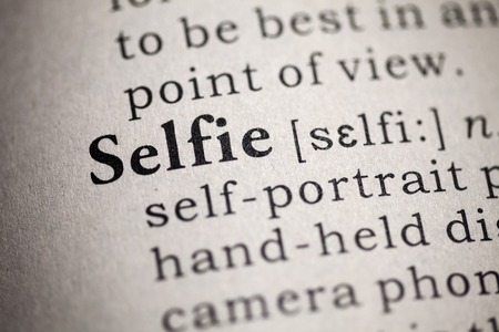 printing out: Fake Dictionary, Dictionary definition of the word selfie