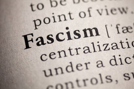 Fake Dictionary, Dictionary definition of the word fascism