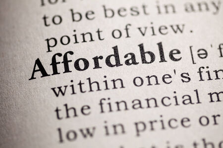 Fake Dictionary, definition of the word affordable