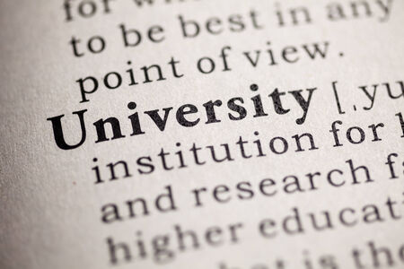 printing out: Fake Dictionary, definition of the word university