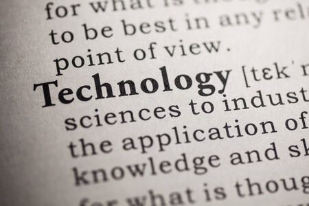 printing out: Fake Dictionary, Dictionary definition of the word technology