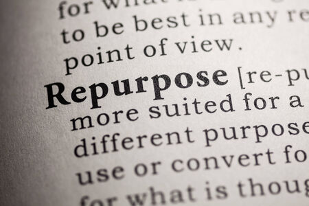 repurpose: Fake Dictionary, Dictionary definition of the word repurpose