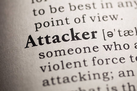 attacker: Fake Dictionary, Dictionary definition of the word attacker