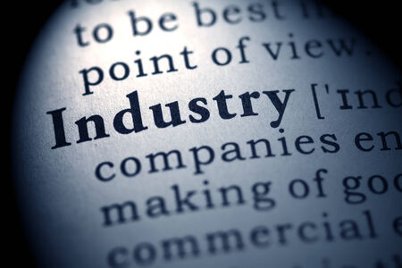 printing out: Fake Dictionary, definition of the word industry