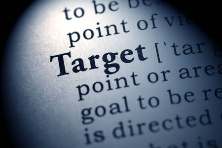 Fake Dictionary, Dictionary definition of the word target
