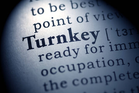 Fake Dictionary, Dictionary definition of the word turnkey