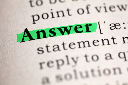 answer: Fake Dictionary, Dictionary definition of the word Answer