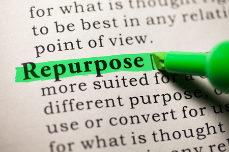 Fake Dictionary, Dictionary definition of the word repurpose