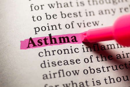 Fake Dictionary, Dictionary definition of the word asthma