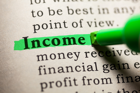 Fake Dictionary, Dictionary definition of the word income