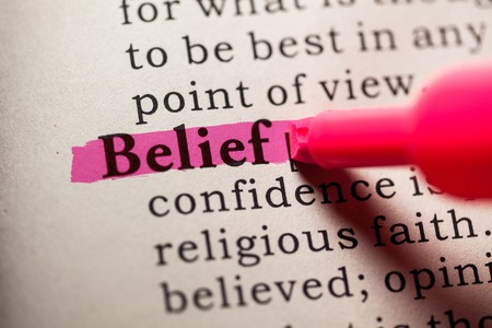 Fake Dictionary, Dictionary definition of the word belief