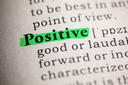 Fake Dictionary, definition of the word positive