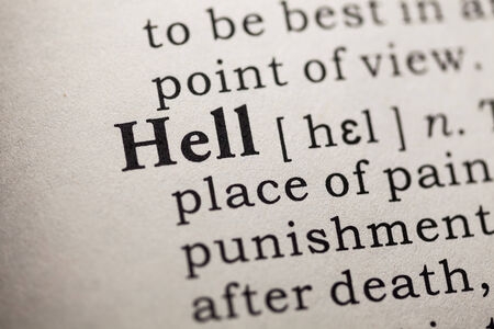 Fake Dictionary, Dictionary definition of the word hell
