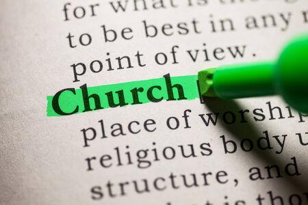 가짜 사전, 교회라는 단어의 정의