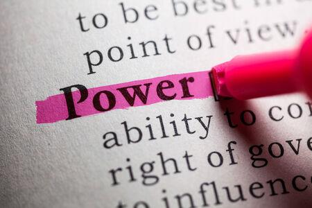 가짜 사전, 단어의 힘의 정의
