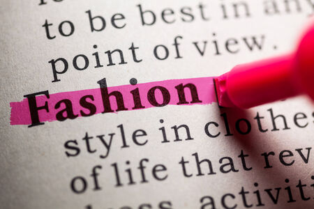 Fake Dictionary, definition of the word fashion 版權商用圖片 - 27047505