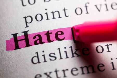 Fake Dictionary, definition of the word hate