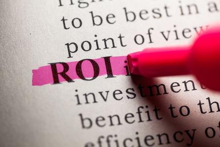 definici�n: Diccionario Fake, la definici�n de la palabra ROI