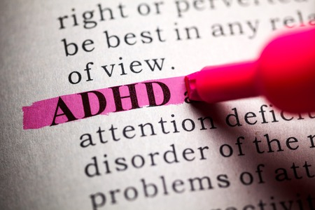 Fake Dictionary, definition of the word ADHD  photo