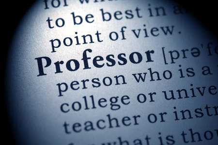 Fake Dictionary, Dictionary definition of the word professor