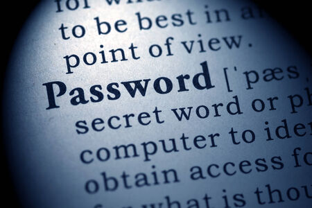 Fake Dictionary, Dictionary definition of the word password