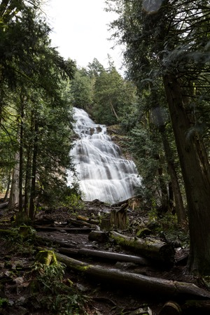 Bridal Veil Falls in BC Canada