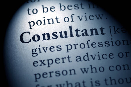 Fake Dictionary, Dictionary definition of the word consultant