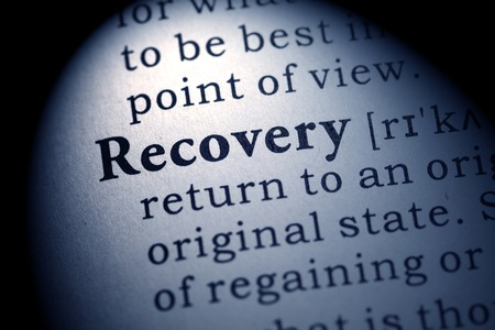 Fake Dictionary, Dictionary definition of the word recovery