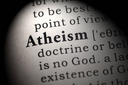 atheism: Fake Dictionary, Dictionary definition of the word atheism