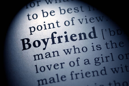 Fake Dictionary, Dictionary definition of the word boyfriend