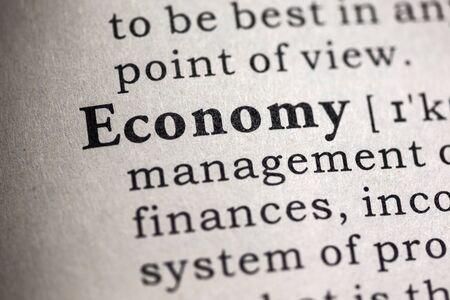 definicion: Diccionario Fake, Definici�n del diccionario de la palabra econom�a.