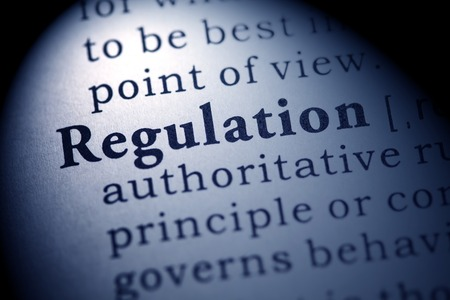 Fake Dictionary, Dictionary definition of the word regulation.