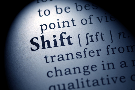 definitions: Fake Dictionary, Dictionary definition of the word shift.