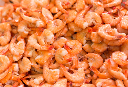 red cooked: red cooked Shrimp cocktail background