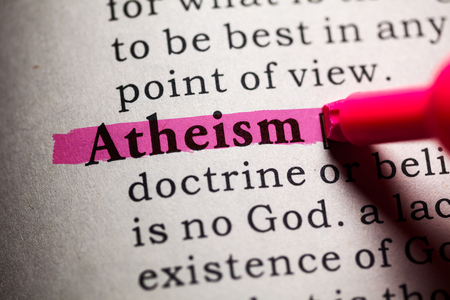 atheism: Fake Dictionary, Dictionary definition of the word atheism.