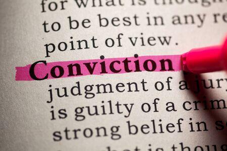 가짜 사전, 약속의 단어에 대한 사전 정의. 스톡 콘텐츠