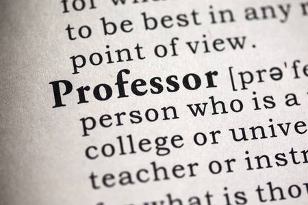 dictionary definition: Fake Dictionary, Dictionary definition of the word professor.