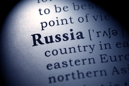 dictionary definition: Fake Dictionary, Dictionary definition of the word Russia.
