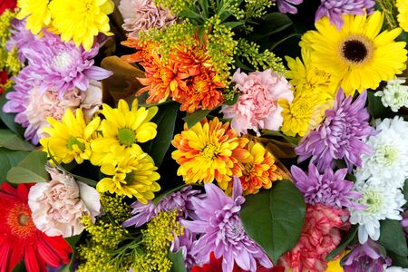 aromas: Bunch of flowers for background Stock Photo