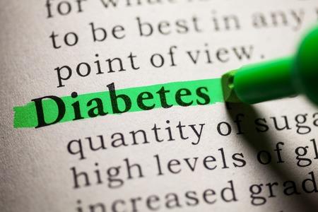 diabetes: Fake diccionario, definición de las diabetes de palabras.