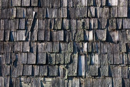 shingles: La textura de un techo de tejas
