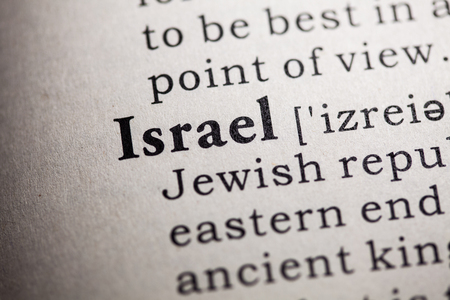 definitions: Fake Dictionary, Dictionary definition of the word Israel.