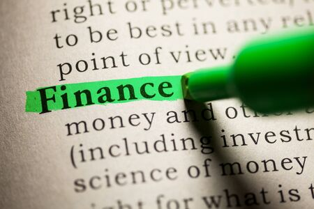 Fake Dictionary, definition of the word Finance.