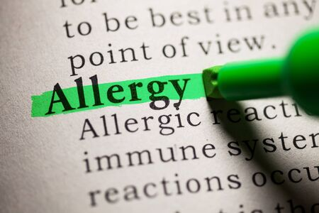 ailing: Fake Dictionary, definition of the word Allergy.