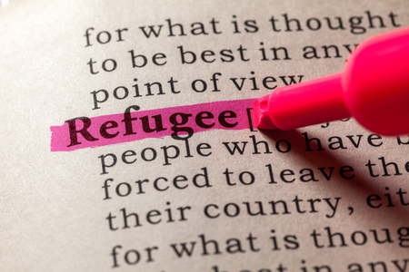 language dictionary: Fake Dictionary, Dictionary definition of the word refugee