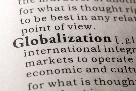 Fake Dictionary, Dictionary definition of the word globalization
