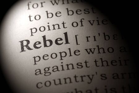 to rebel: Fake Dictionary, Dictionary definition of the word rebel