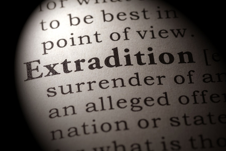 Fake Dictionary, Dictionary definition of the word extradition