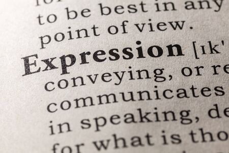 language dictionary: Fake Dictionary, Dictionary definition of the word expression