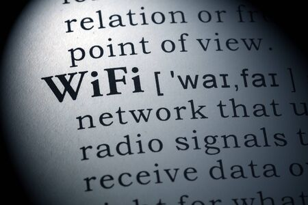 definitions: Dictionary definition of wifi.